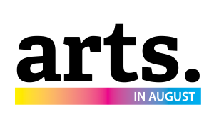 Arts in August Logo